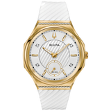 Bulova Ladies' Curv Watch - Gold Tone