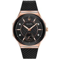 Bulova Ladies' Curv Watch - Rose Gold Tone