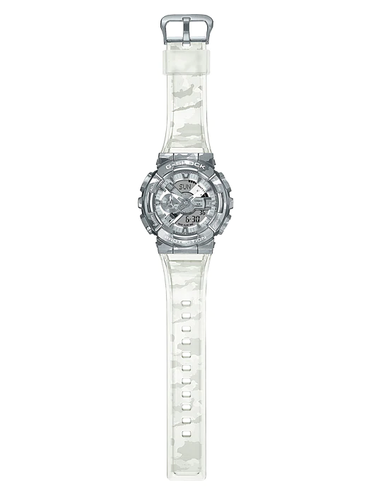 Casio G-Shock -  GM110 Series - Steel Camo Bezel