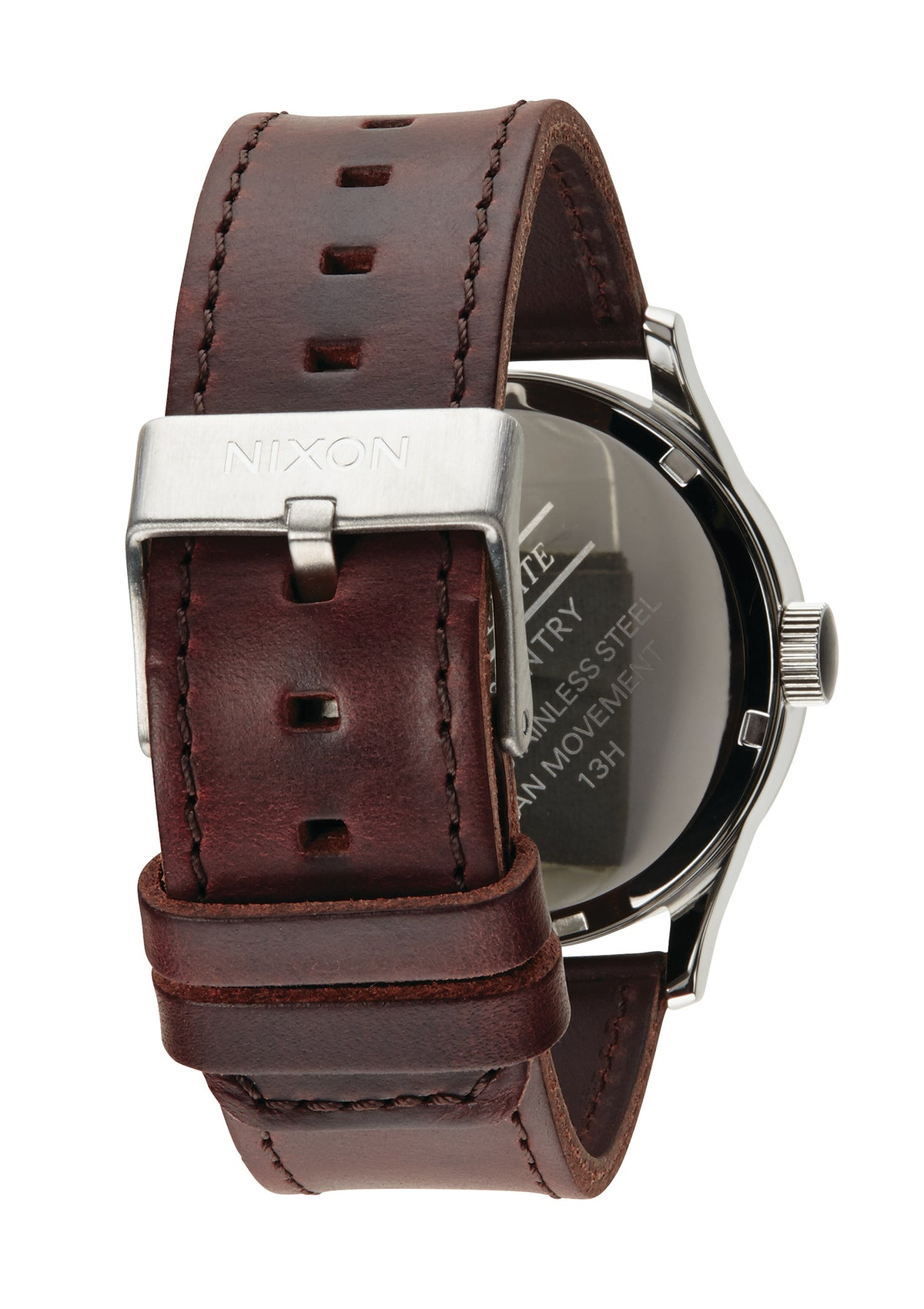 Nixon Sentry Leather - Blue/Brown