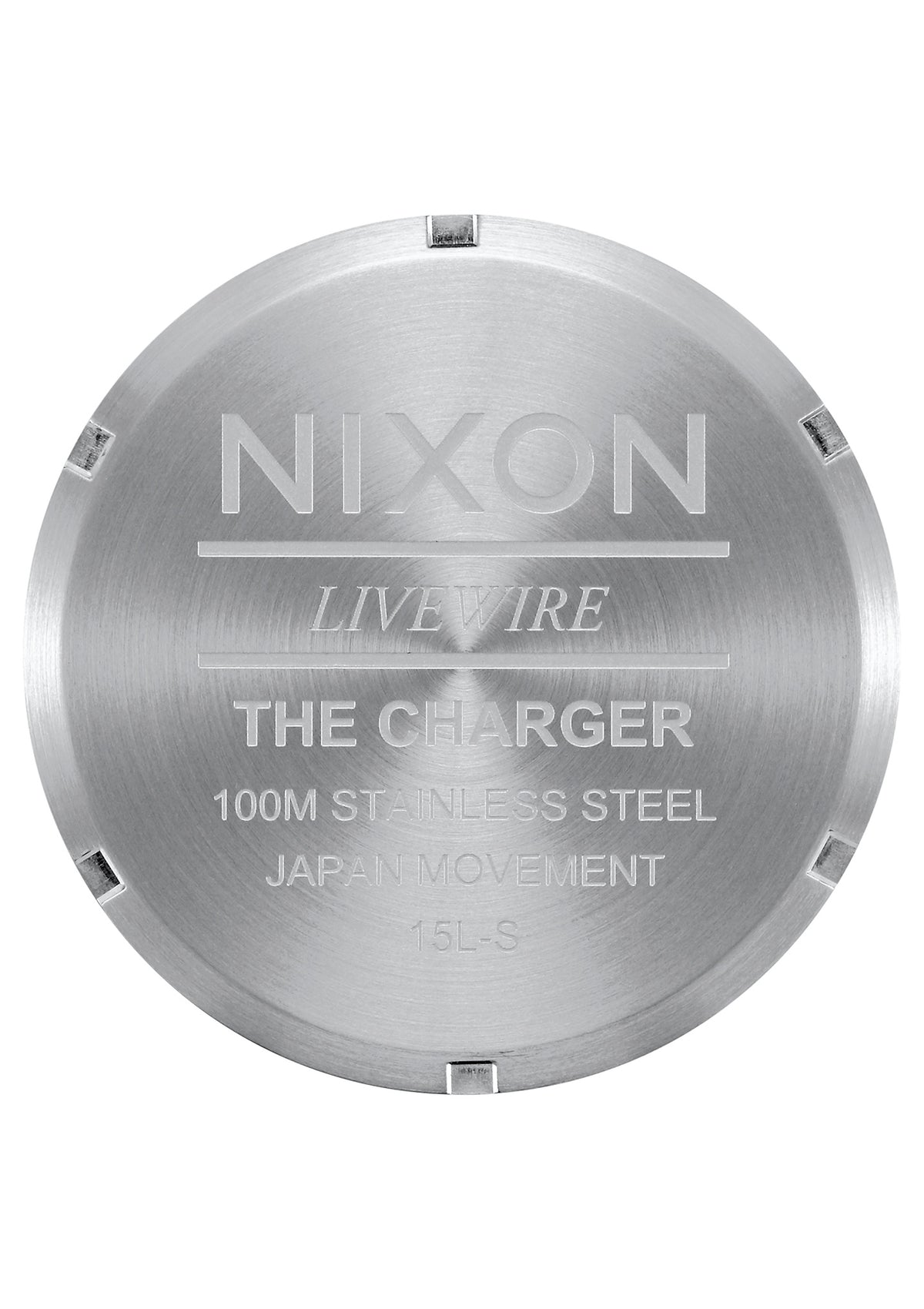 Nixon Charger Leather - Black/Saddle