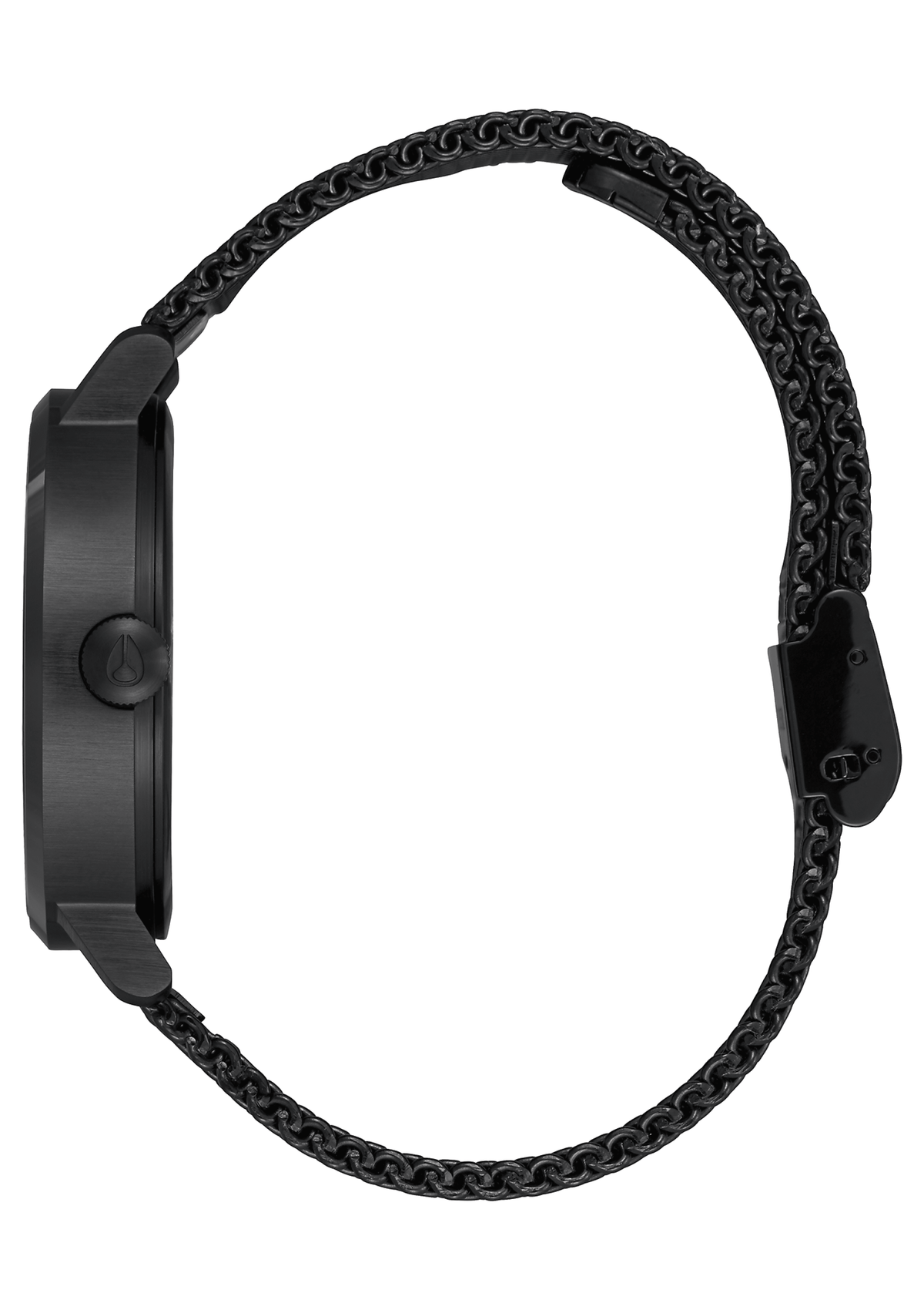 Nixon Watch - Clutch: All Black/White