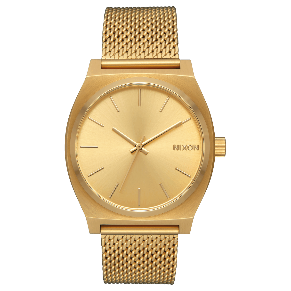 Nixon Watch Time Teller Milanese 37mm - All Gold