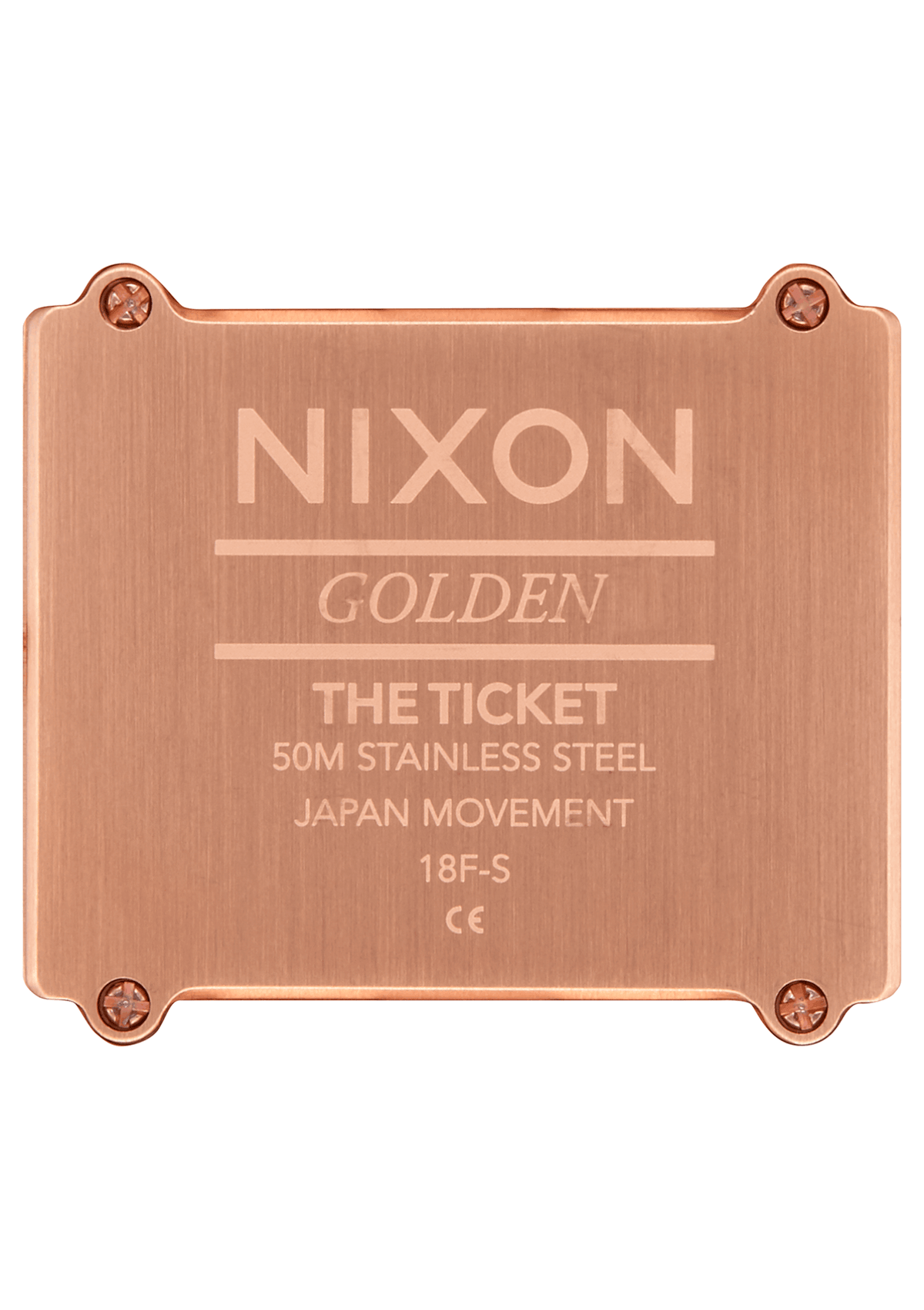 Nixon Watch - Ticket: All Rose Gold