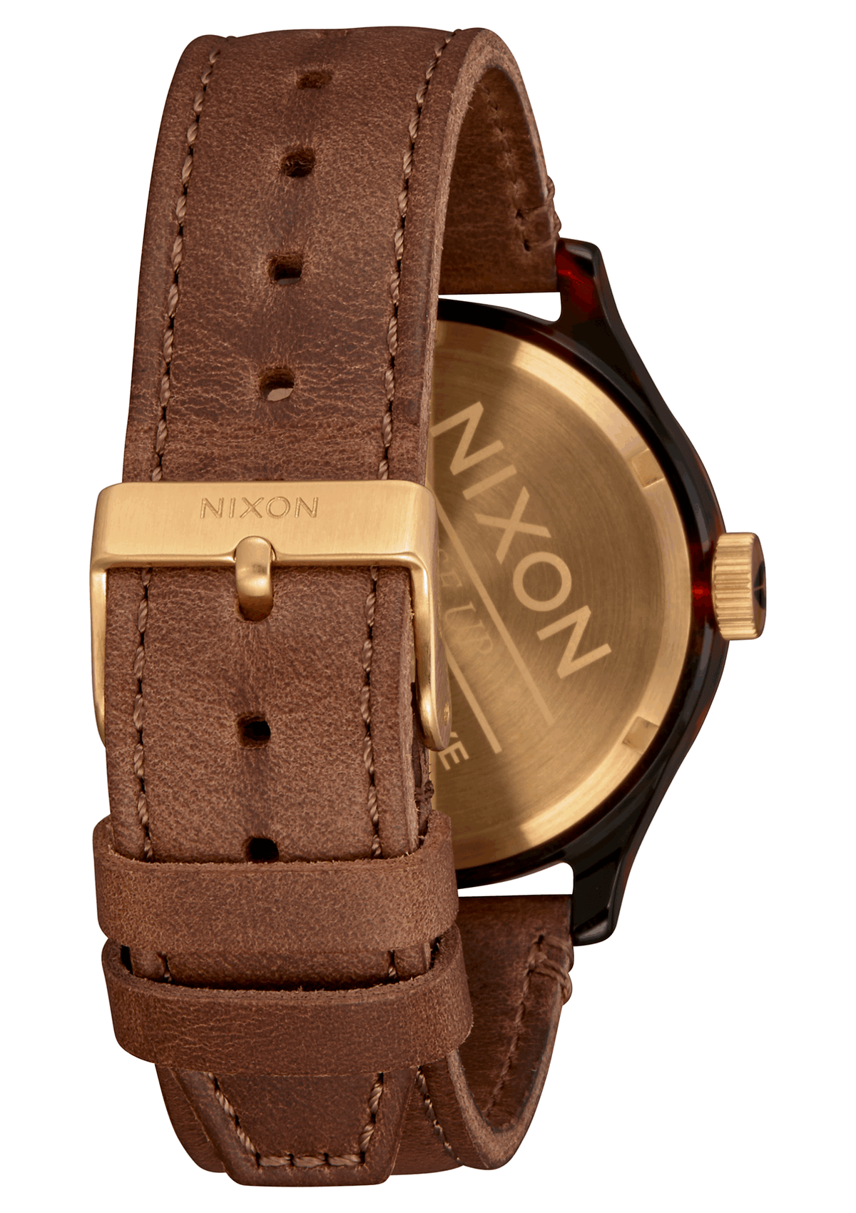 Nixon Sentry Luxe - Tortoise/Gold/Brown