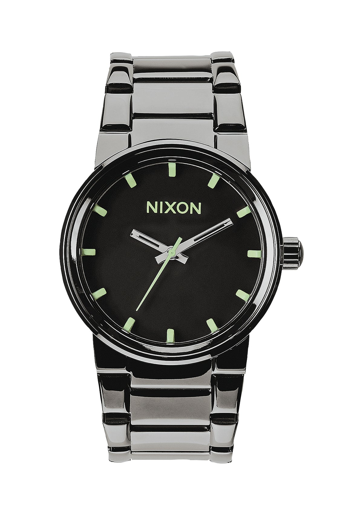 Nixon Cannon - Polished Gunmetal/Lum