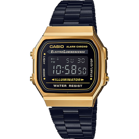 Casio Vintage Digital - Gold & Black