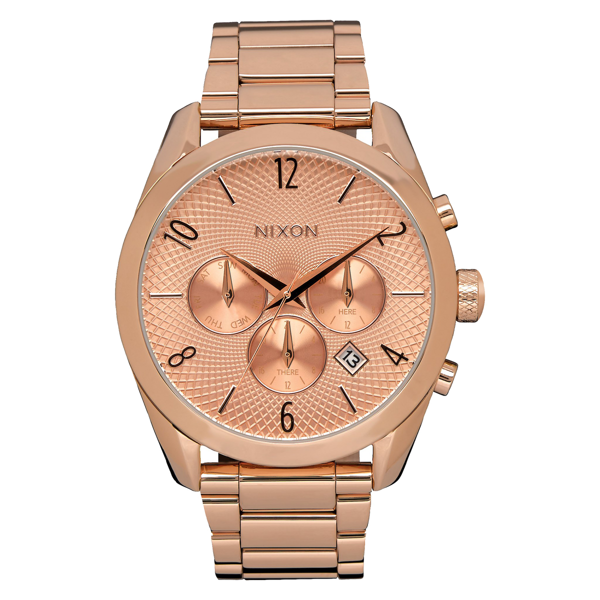 Nixon Watch - Bullet Chrono: All Rose Gold