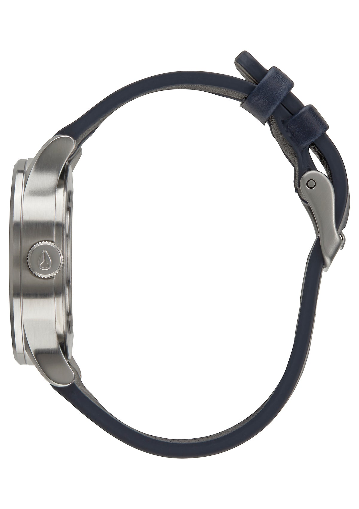 Nixon Sentry 38 Leather - Black/Navy/Black