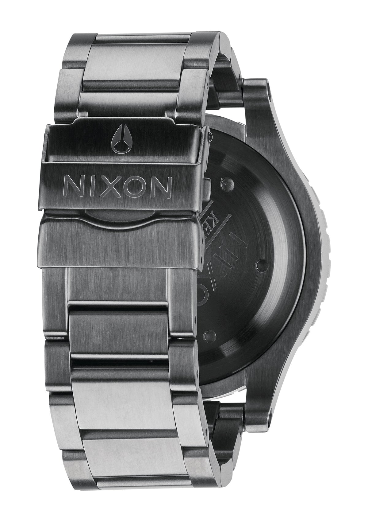 Nixon Watch - 48-20 Chrono - Gunmetal/Green Oxyde