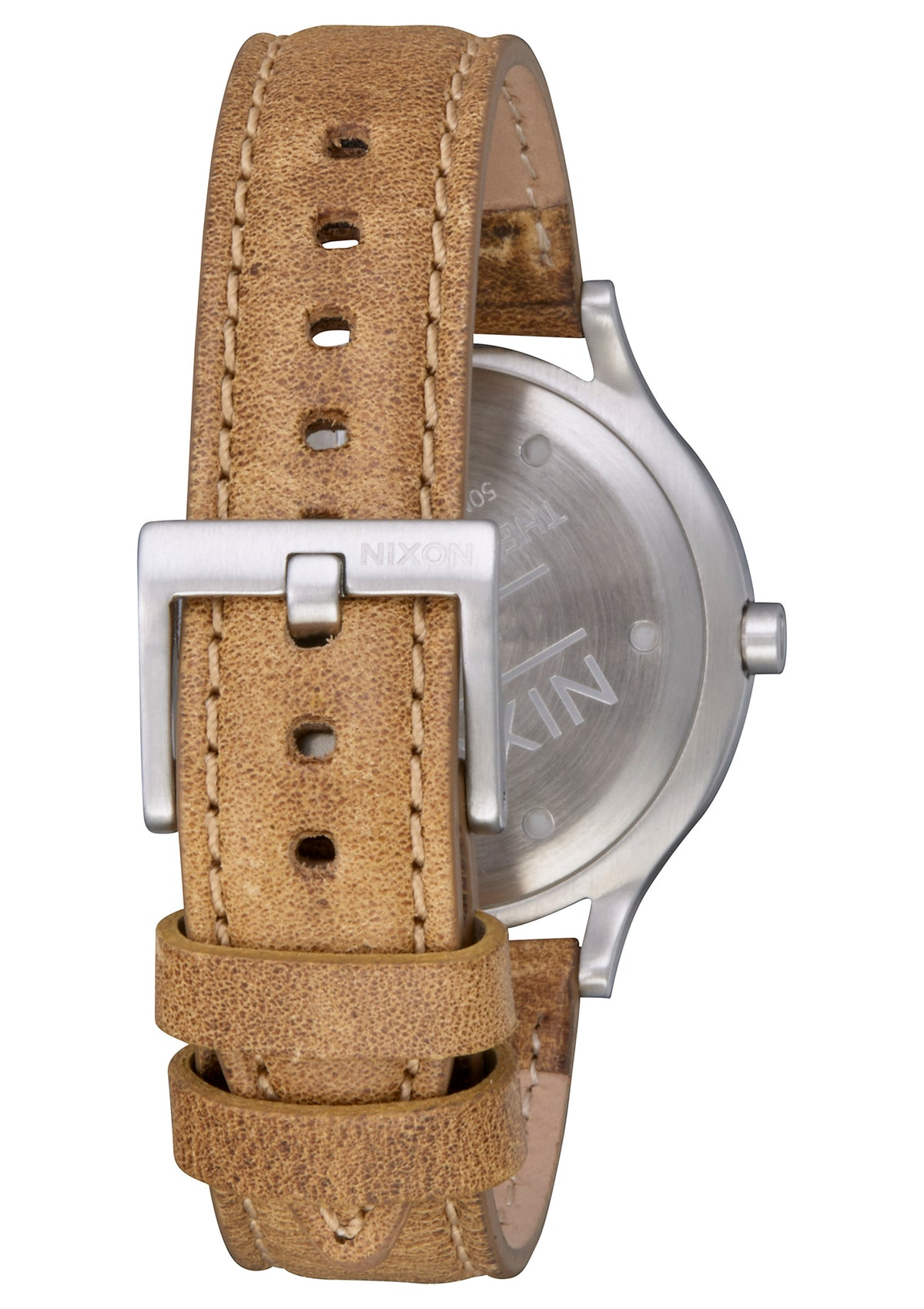 Nixon Sala Leather - White/Tan