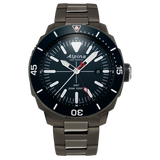 Alpina - SEASTRONG DIVER GMT - Stainless Steel Titanium PVD with Blue Dial/Bezel ***PRE-ORDER***
