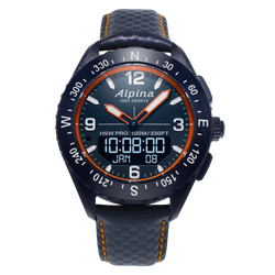 Alpina - AlpinerX Outdoors Smartwatch - Blue/orange