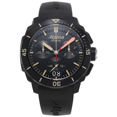 Alpina - SEASTRONG DIVER 300 BIG DATE CHRONOGRAPH