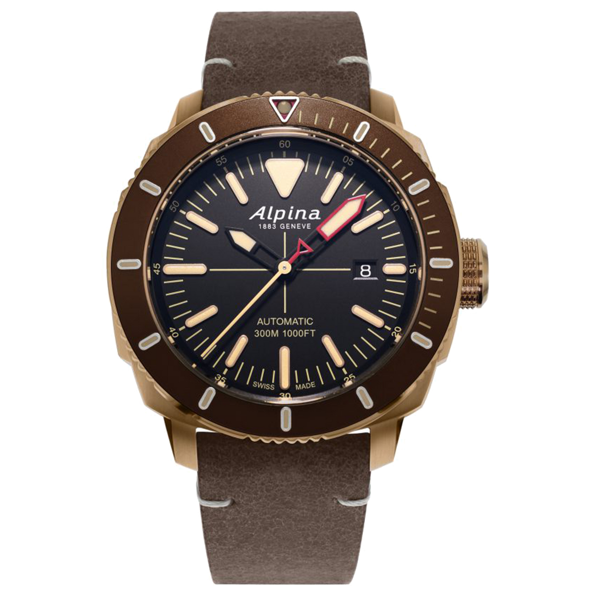 Alpina - SEASTRONG DIVER 300 AUTOMATIC - Bronze PVD Case