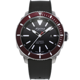 Alpina - SEASTRONG DIVER 300 AUTOMATIC - Black Dial, Red Bezel
