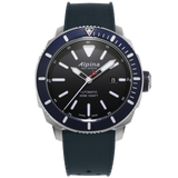 Alpina - SEASTRONG DIVER 300 AUTOMATIC - Black Dial, Blue Bezel