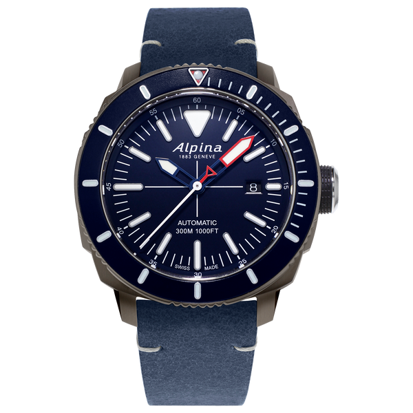 Alpina - SEASTRONG DIVER 300 AUTOMATIC - Blue Dial