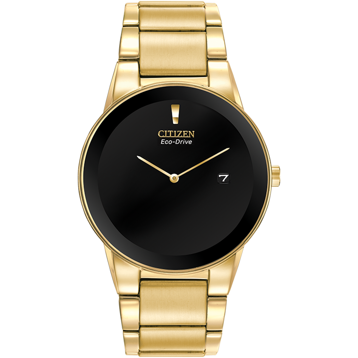 Citizen Eco-Drive - Axiom - Gold Tone with black Dial