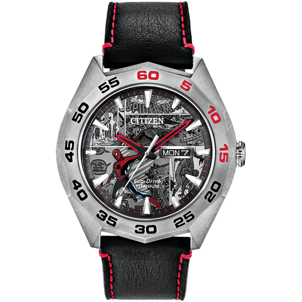 Citizen Eco-Drive: Marvel Spider-Man Watch Limited Edition