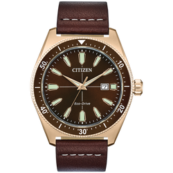 Citizen Eco-Drive - Brycen - Rose Gold Tone