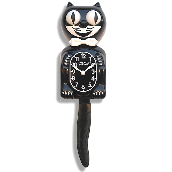 Classic Black  Kit-Cat® Klock
