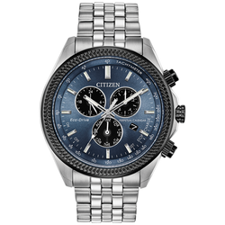 Citizen Eco-Drive - Brycen - Chronograph with Blue Dial