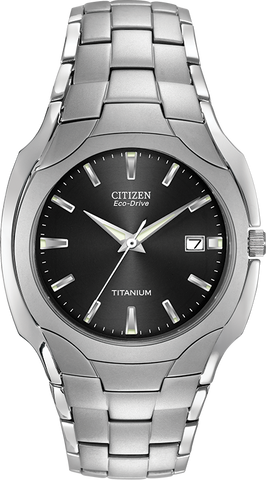 Citizen Eco-Drive - PARADIGM - Titanium with Black Dial