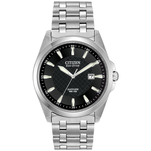 Citizen Eco-Drive - Stainless Steel with Sapphire Crystal