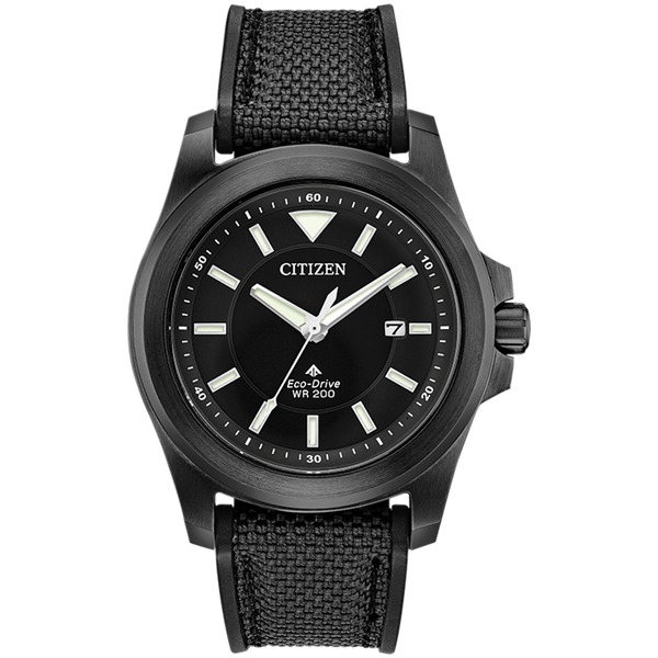 Citizen Eco-Drive - PROMASTER TOUGH Black Steel