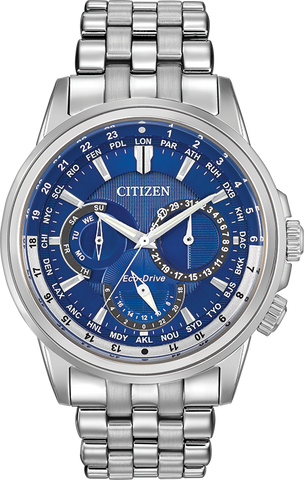 Citizen Eco-Drive - Stainless Steel Calendrier