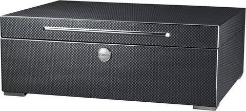 Benson Black Series - 8 Watch Box in Carbon Fibre