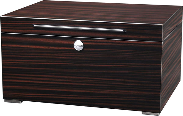 Benson Black Series - 12 Watch Box in Macassar