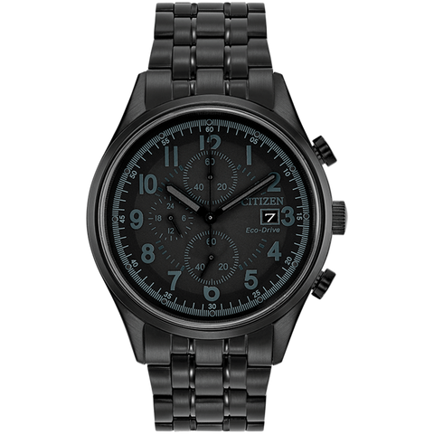 Citizen Eco-Drive - CHANDLER Black Steel Chronograph
