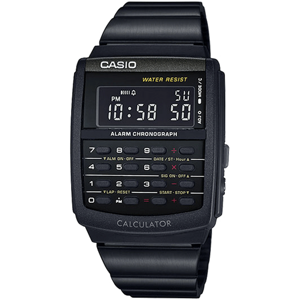 Casio Vintage Digital Calculator watch - Black