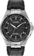Citizen Eco-Drive - World Perpetual A-T - Stainless Steel with Black Leather
