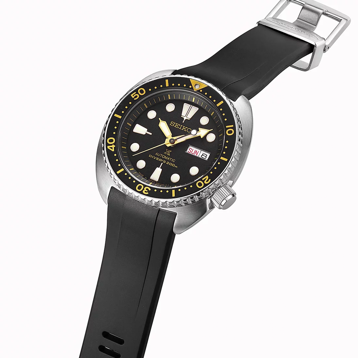 Crafter Blue - Fitted End Rubber Strap for Seiko Turtle