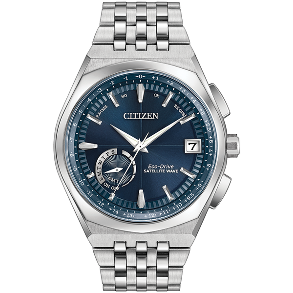 Citizen Eco-Drive - SATELLITE WAVE - WORLD TIME GPS Blue Dial