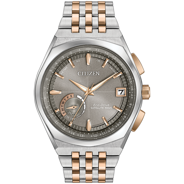 Citizen Eco-Drive - SATELLITE WAVE - WORLD TIME GPS Two Tone Rose Gold