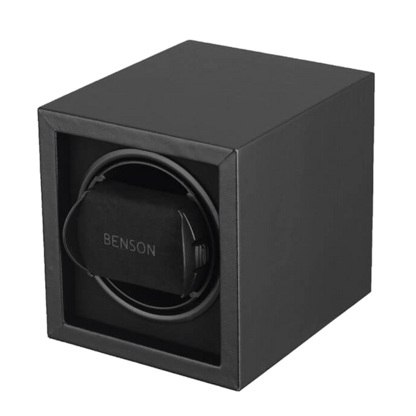 Benson Compact Series - Single Watch Winder in Black