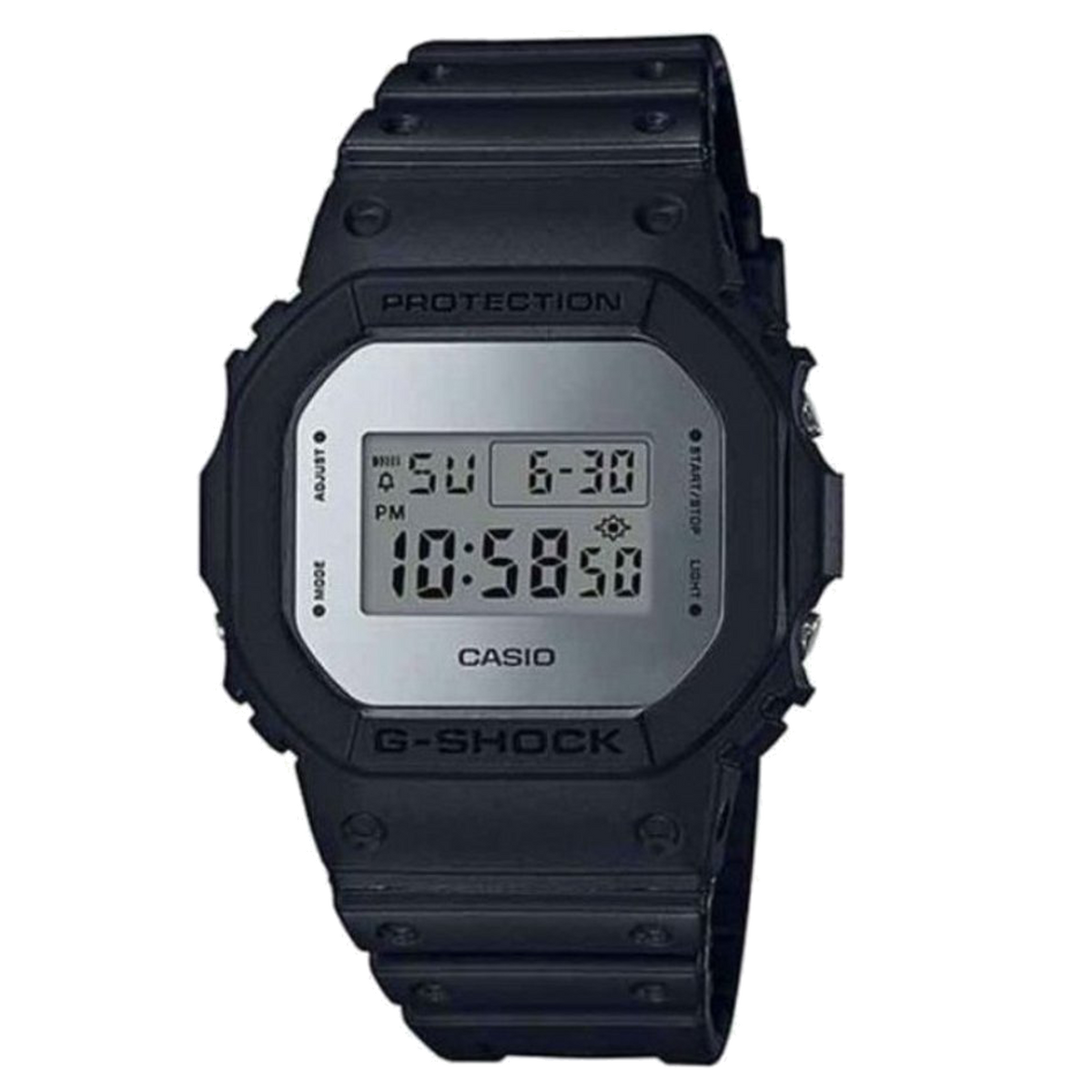 Casio G-Shock -  Digital - Black/Silver