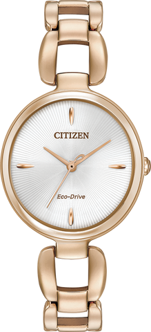 Citizen Eco-Drive - L Collection - Rose Gold Tone
