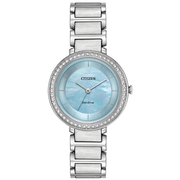 Citizen Eco-Drive - SILHOUETTE CRYSTAL - Stainless Steel