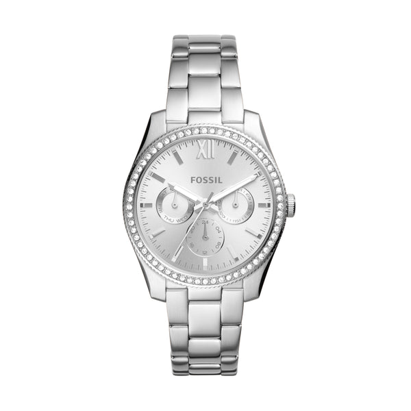 Fossil Watch - Scarlette multifunction stainless steel watch