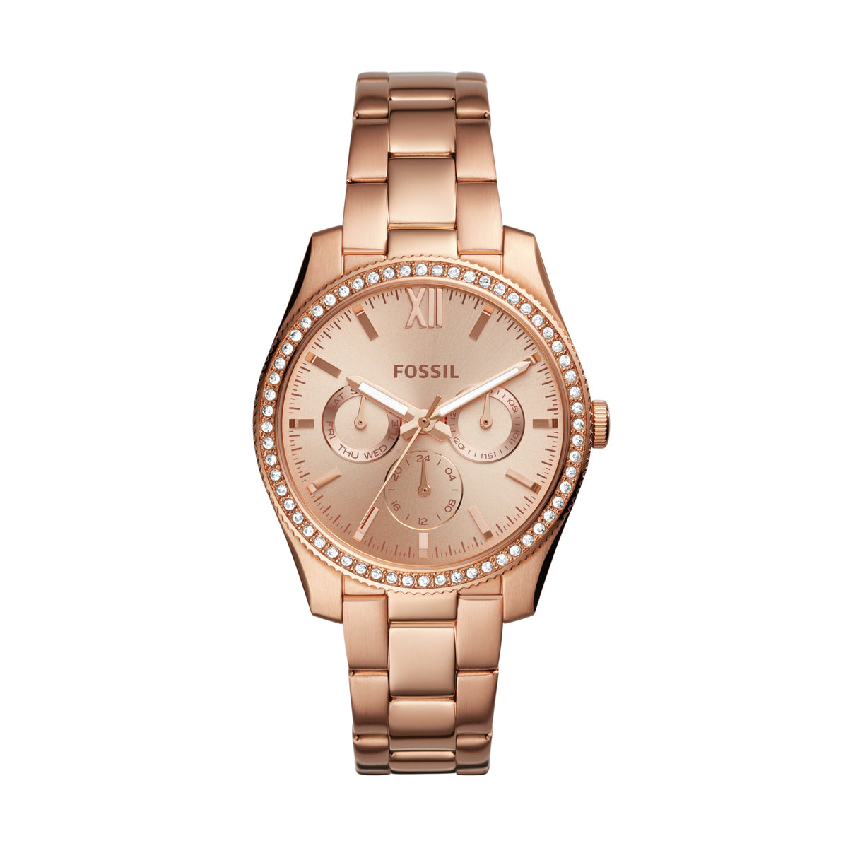 Fossil Watch - Scarlette multifunction Rose-Gold stainless steel watch