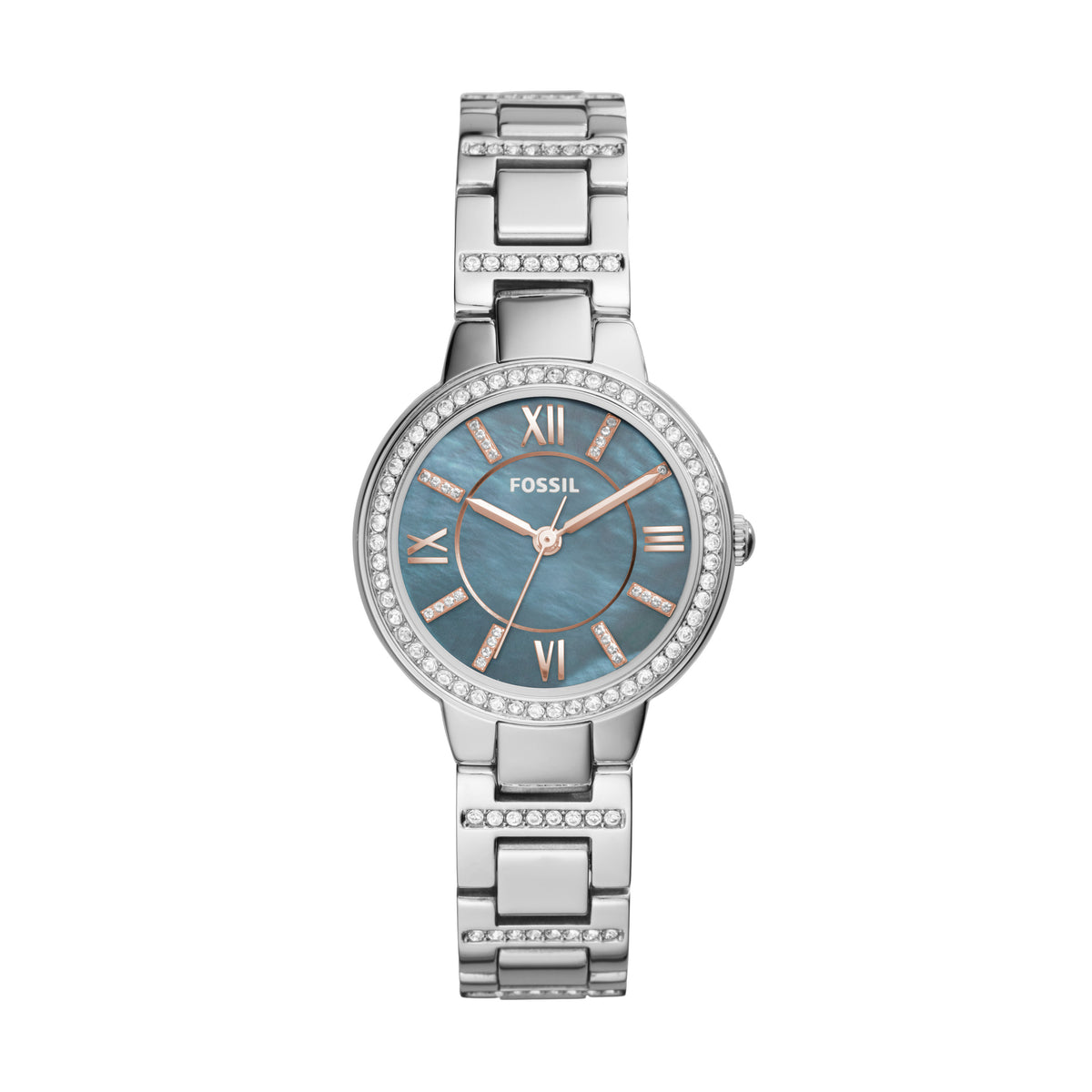 Fossil Watch - Virginia Three-Hand stainless steel watch