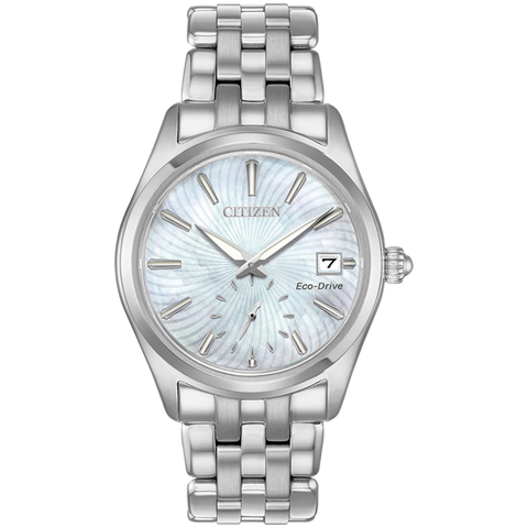 Citizen Eco-Drive - Corso - Stainless Steel with MOP Dial