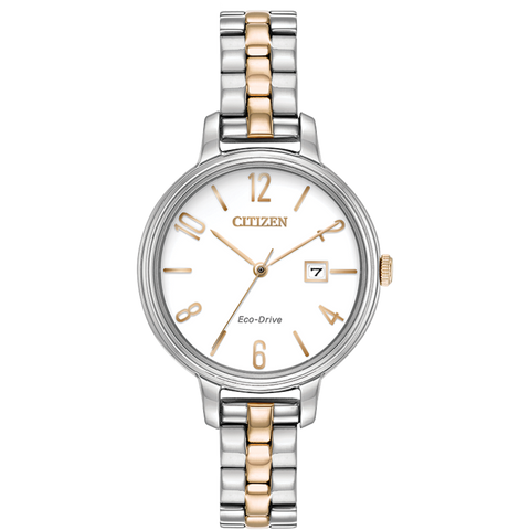 Citizen Eco-Drive - CHANDLER - Two Tone Rose Gold