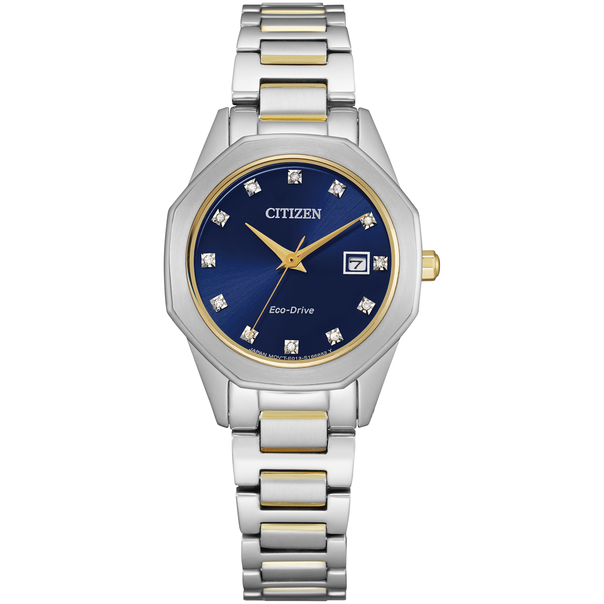 Citizen Eco-Drive - 28mm Corso - Two-Tone with Diamonds