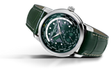 Frederique Constant - CLASSIC WORLDTIMER MANUFACTURE in Green